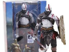 God of War 4 Kratos with Axe Shield PVC Statue Figure Collectible Model Toy