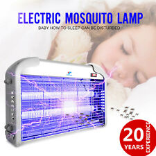 110V 20W UV Indoor Electric Mosquito Fly Bug Insect Zapper Killer Light Catcher
