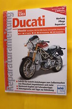 Ducati Monster 4 Ventiler MJ 2001-2008 S4  S4R S4RS Reparaturanleitung Handbuch