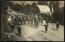 Holmfirth Wesleyan Centenary 1910 # 6. March & Sunday School Banner.