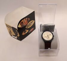 007 Goldeneye Swatch Watch James Bond Boxed Never Worn