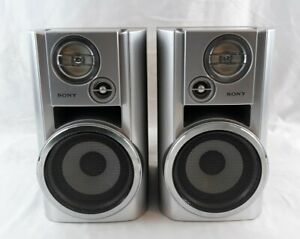 Sony SS-CHP7 Wired Silver Speakers Speaker System **TESTED**