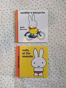 Miffy's Bicycle & Miffy At The Seaside Books