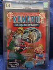 DC JACK KIRBY KAMANDI THE LAST BOY ON EARTH! #2  CGC 9.4  NM  3022