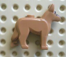 LEGO 92586pb01 GERMAN SHEPHERD POLICE DOG WITH BLACK EYES