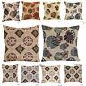 "Jacquard Cushion Covers Decoration Sofa Cushion Cathy 18""x18"" Size Many Colors"