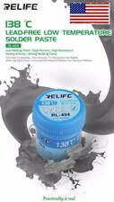 Relife Rl 404 Low Temp Solder Paste Pcb Weight 40g 138c