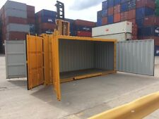 Side Door Used 20' Shipping Container