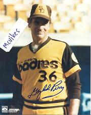 Gaylord Perry San Diego Padres Autographed Signed 8x10 Photo COA HOF