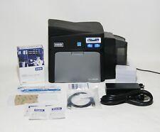 Fargo Dtc4000 Id Card Thermal Printer Package - Magicard Evolis Zebra Ribbon