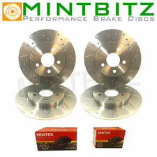 BMW 3 E36 318tds 91-96 Dimpled Grooved Front Rear Brake Discs Pads