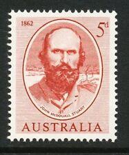 Australian 1962 Sturts Overland Crossing stamp, Mint Never Hinged