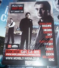 MARK SELBY SIGNED THE MASTERS SNOOKER FLYER 2010 SPORT AUTOGRAPH 100% OFFICIAL