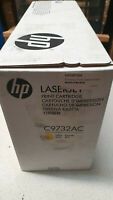 Genuine HP C9732AC Yellow Toner For Colour Laserjet 5500,5550 Boxes have tape