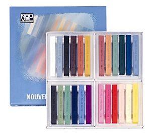 Talens Japan NOUVEL Carre Pastel 24 color A set