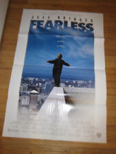 FEARLESS Jeff Bridges poster 1993