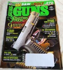 Guns Magazine Ruger SR556 Smith & Wesson Classics Model 17 14 November 2009