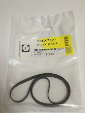 """23.6"""" Flat Rubber Replacement Belt for Turntables and More - FRX23.6 - NEW"""