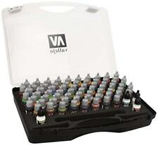 AV Vallejo Game Color BOX SET - 72 pitture, 3 Pennelli E Custodia # 72172