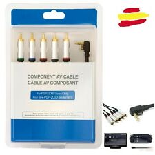 CABLE HDTV PSP SLIM 2000 3000 2001 2002 2004 3001 3002 3004 AV tele conexion TV