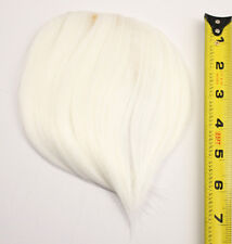 7'' Short Clip on Bangs Snow White Cosplay Wig Hair Extension Accessory NEW