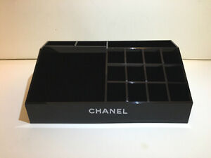 CHANEL MAKE UP BAG COSMETIC LIPSTICKS HOLDER BRUSH HOLDER PERFUME BOX