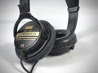 Vintage Pioneer SE-72 Digital Professional Headphones