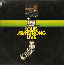 """12"""" Louis Armstrong Live in Concert vol. 1 (EMI Brunswick) Hello Dolly 70`s"""
