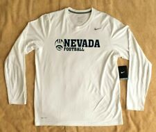 Nike University Of Nevada Reno Team Dri-Fit Mens Long Sleeve Training T-Shirt L