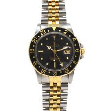 Rolex 16753 Nipple Dial Two Tone GMT- Master Jubilee Bracelet Watch
