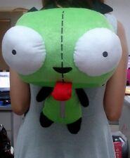 Green Alien Invader Zim Gir Stuffed Plush Backpack Bag CUTE 14 inch New W/Tag