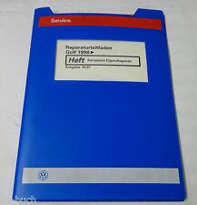 Werkstatthandbuch VW Golf IV / 4 Karosserie Eigendiagnose ab 1998