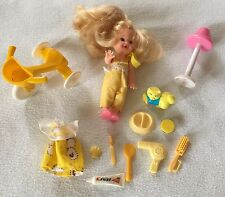 1994 Mattel Barbie Baby Sister Moving Arms And Lots Of Accessories