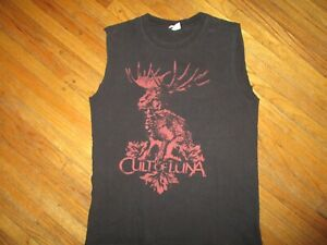 CULT OF LUNA T SHIRT Band METALCORE Cut Sleeves Muscle Tee Jackalope SMALL
