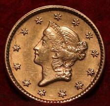 1851 Philadelphia Mint Gold $1