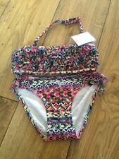 Clearance Rrp £13 BNWT Next multi print mesh Bikini Age 5-6 Years Height 116cm