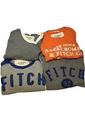 abercrombie and fitch men t shirt xxl (Package Of 4)