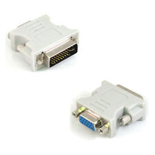 DVI-I (24+5) Analog male to VGA female adapter connector convertor