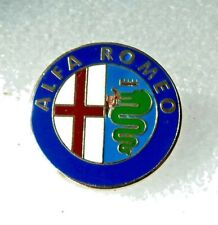 ALFA ROMEO  ENAMEL  LAPEL PIN BADGE