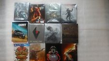 PS4 Steelbook ONLY,Uncharted 4,No Man's Sky,WWE 2K17,Persona (NO GAMES)PS4/XBOX1