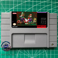Super Mario World: Mario Call of Cthulhu SNES Video Game USA version
