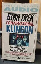 Simon & Schuster Star Trek Conversational Klingon Audio Tape