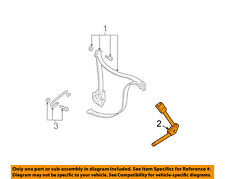 FORD OEM 00-07 Focus Front Seat Belt-Buckle End Left 6S4Z6161203A