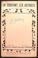 Partition Ancienne - En Ecoutant Les Asticots - Eds. Honoré Pion - 1945