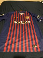 Nike Barcelona FC Authentic Jersey Mens Size Large 2018/2019