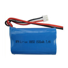 7.4V 1500mAh Lipo Battery12423 12428 For Wltoys FY01 FY02 FY03 RC Car Toy Parts
