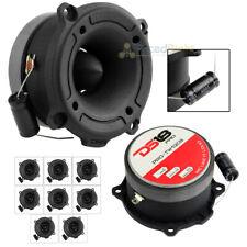 """DS18 PRO-TW120B 1"""" Super Bullet Tweeters Black 300 Watts Max 4 Ohm 8 Pack"""