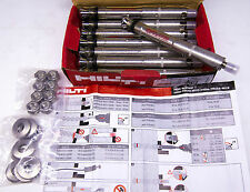 Qty 8 Hilti #339353 Undercut Anchors HDA-TR M12 x 125/50 316 Stainless Dyna Bolt