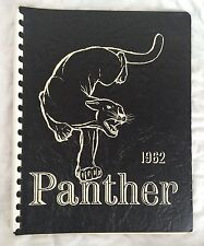 Old Mission Junior High School Roeland Park Kansas Yearbook 1962 Panthers 60s