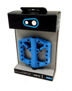 Crank Brothers Stamp 1 Mountain Bike Pedals, Blue, Small